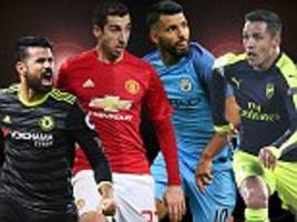 man city vs chelsea predictions, man united's form man and the arsenal star to back