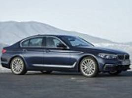 ray massey: the new faster, lighter, high-tech bmw 5-series is in seventh heaven