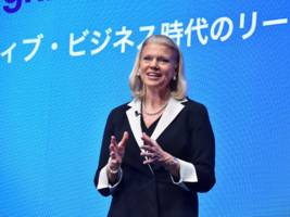 there's only one tech ceo on trump's economic advisory team — and she's not from silicon valley (ibm)