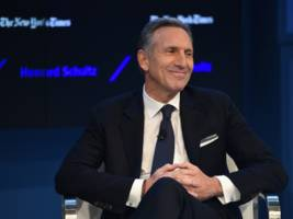 OUTGOING STARBUCKS CEO HOWARD SCHULTZ: Starbucks is not 'at odds with Trump or his supporters'