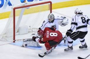 Arizona Coyotes Fall To Kings Behind Nolan's Two Goals