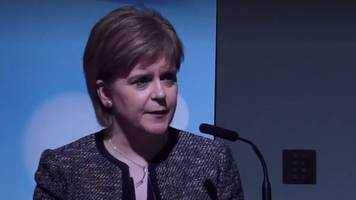 sturgeon calls for unity against far-right politics