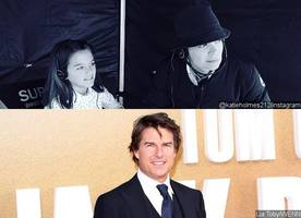 katie holmes 'is freaking out' after tom cruise secretly reconnects with daughter suri