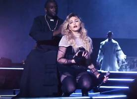 madonna admits she's 'difficult to work with' in promo for showtime special