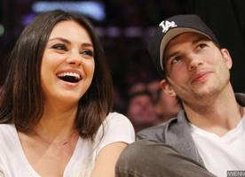 mila kunis gives birth to second child with ashton kutcher