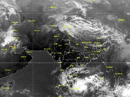 Cyclone Nada formed in South East Bay weakens into deep depression
