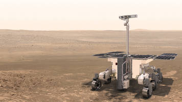europe presses ahead with mars rover