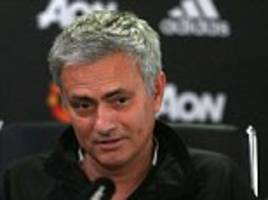 manchester united manager jose mourinho claims he is always singled out by referees