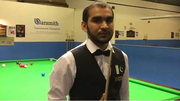 snooker champion hamza akbar still waiting for money from pakistan sports minister