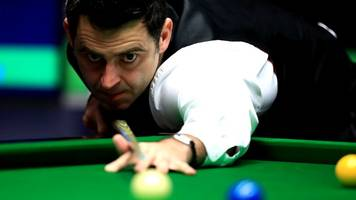 o'sullivan powers past williams into semi-finals