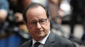 France's President Hollande Won't Run For A Second Term