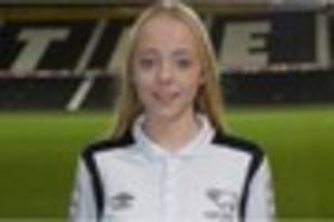 england call-up for derby county ladies youngster