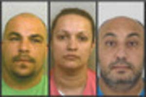 Trio jailed after trafficking women and forcing them to work as...