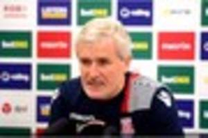 stoke city video: mark hughes sets out his plans for the january...