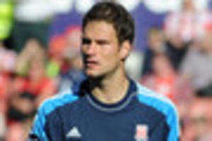 stoke city fans salute 'hero' begovic