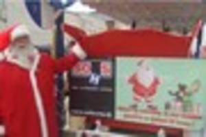 find out how santa is supporting north devon's hospital services...