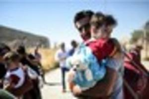 dozens of syrian refugees settle in gloucestershire