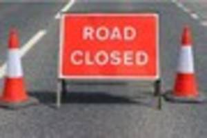 m180 closed in both directions for emergency repairs