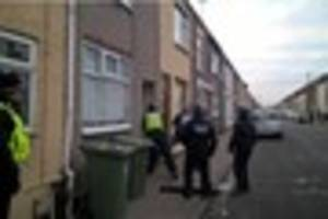 three arrested in drug swoops in grimsby