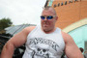 strongman left battered and bleeding after alleged attack by...