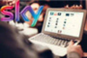 sky broadband restored for thousands of homes after it went down...