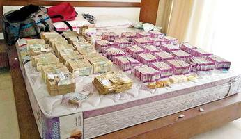 new notes worth rs 6 crore, 7kg gold haul in bengaluru tax raids