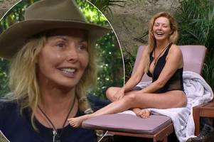 i'm a celeb's carol vorderman set to cash in up to £1million to strip for saucy calendar?