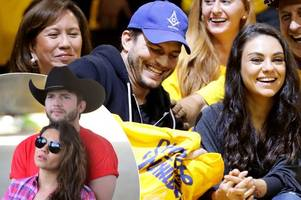 mila kunis and ashton kutcher welcome baby boy as hollywood stars become parents for the second time