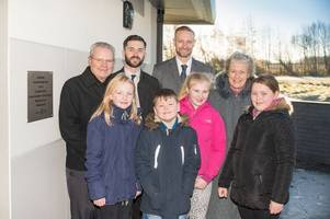 New £500,000 changing facility for sports activities opened in Uphall Station