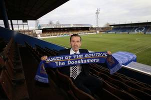 new queen of the south boss gary naysmith can't wait to get started.