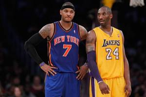 NBA Trade Rumors: Carmelo Anthony to Los Angeles Lakers, Kristaps Porzingis to Minnesota Timberwolves in a 3-team, 9-player deal
