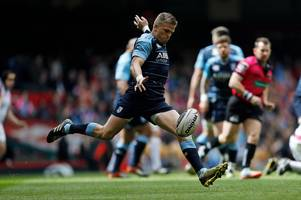 cardiff blues v ulster team news: shock gareth anscombe injury blow as nicky robinson named matchday in squad
