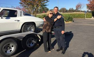 stolen '64 chevrolet corvette returned to owner after 40 years