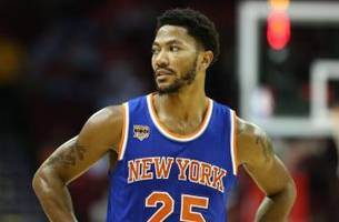 derrick rose says he can't play the same way he played in chicago because of 'the talent'