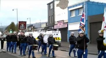 ardoyne parade: march takes place along contentious stretch in north belfast