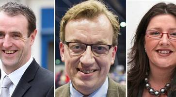 northern ireland faces joining barack obama in the latest who's who: stormont politicians among new names