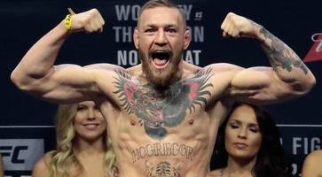 ufc champion conor mcgregor will be flag bearer for belfast boxer michael conlan's new york fight