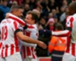 stoke 2-0 burnley: jon walters and marc muniesa lift potters into the top-half