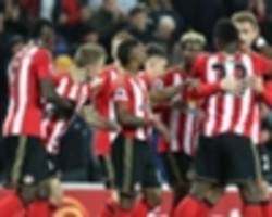 sunderland 2-1 leicester city: defoe fires black cats off the bottom