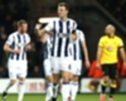 west brom 3-1 watford: set-pieces help tony pulis' side to a third win in four