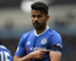 chelsea duo diego costa and willian pay tribute to chapecoense in celebrations