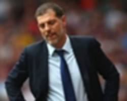 'we don't even train with the right intensity' - bilic slams west ham players following arsenal loss