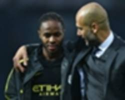 I'm free to express myself under Guardiola, says Sterling