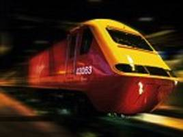 car crashes into virgin train and is 'dragged 80 yards' after driving onto level crossing