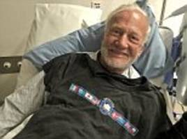 'he'll be insufferable now': buzz aldrin, 86, learns he actually did become the oldest person to make it to the south pole as he recovers in hospital