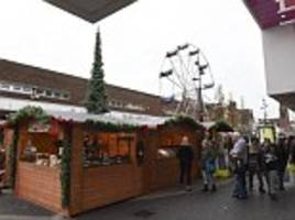 What did you expect? It's the Black Country, not the Black Forest! West Bromwich locals hit out at a 'pathetic' German Christmas market because it only has a few stalls and a Ferris wheel