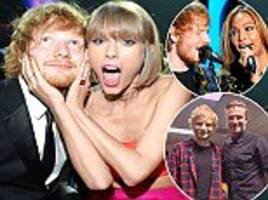 how ed sheeran has become loved by all a-list celebrities