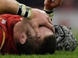Dan Lydiate a doubt for Wales' Six Nations campaign after suffering knee injury in the win over South Africa