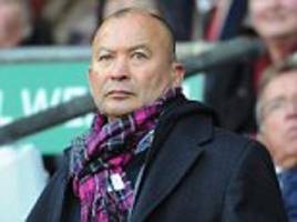England coach Eddie Jones is hungry for success, he is a truly irresistible force of nature