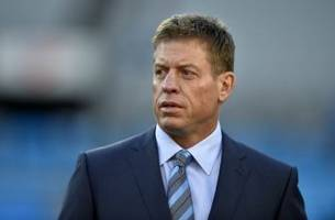 a retired troy aikman was ready to join the miami dolphins
